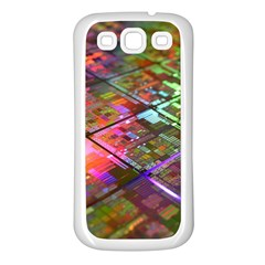 Technology Circuit Computer Samsung Galaxy S3 Back Case (white)