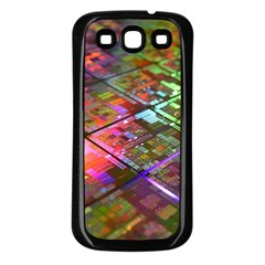 Technology Circuit Computer Samsung Galaxy S3 Back Case (black)