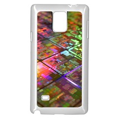 Technology Circuit Computer Samsung Galaxy Note 4 Case (white)