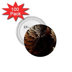 Fractalius Abstract Forests Fractal Fractals 1 75  Buttons (100 Pack)
