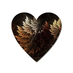 Fractalius Abstract Forests Fractal Fractals Heart Magnet