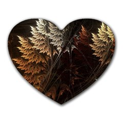 Fractalius Abstract Forests Fractal Fractals Heart Mousepads