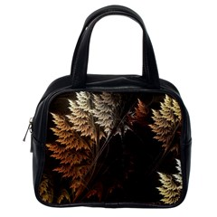 Fractalius Abstract Forests Fractal Fractals Classic Handbags (one Side)