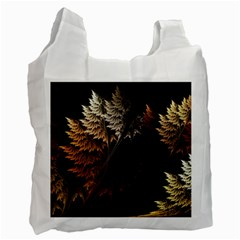 Fractalius Abstract Forests Fractal Fractals Recycle Bag (two Side)