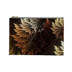 Fractalius Abstract Forests Fractal Fractals Cosmetic Bag (large)