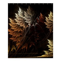 Fractalius Abstract Forests Fractal Fractals Shower Curtain 60  X 72  (medium)