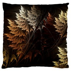 Fractalius Abstract Forests Fractal Fractals Large Cushion Case (one Side)