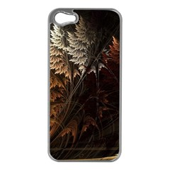 Fractalius Abstract Forests Fractal Fractals Apple Iphone 5 Case (silver)