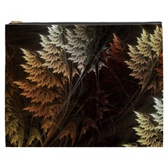Fractalius Abstract Forests Fractal Fractals Cosmetic Bag (xxxl)