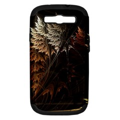 Fractalius Abstract Forests Fractal Fractals Samsung Galaxy S Iii Hardshell Case (pc+silicone)