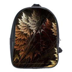 Fractalius Abstract Forests Fractal Fractals School Bags (xl)