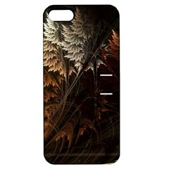 Fractalius Abstract Forests Fractal Fractals Apple Iphone 5 Hardshell Case With Stand