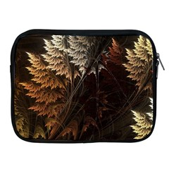 Fractalius Abstract Forests Fractal Fractals Apple Ipad 2/3/4 Zipper Cases