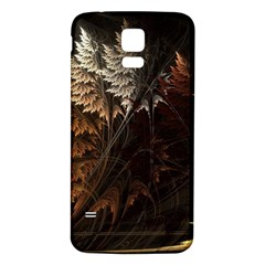 Fractalius Abstract Forests Fractal Fractals Samsung Galaxy S5 Back Case (white)