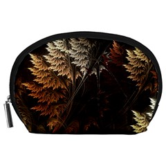 Fractalius Abstract Forests Fractal Fractals Accessory Pouches (large)