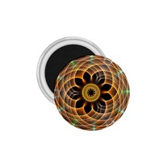 Mixed Chaos Flower Colorful Fractal 1 75  Magnets