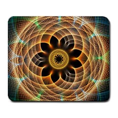 Mixed Chaos Flower Colorful Fractal Large Mousepads