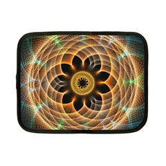 Mixed Chaos Flower Colorful Fractal Netbook Case (small)