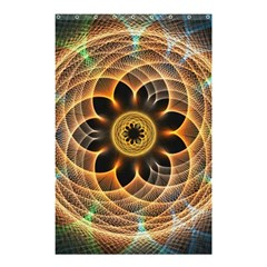 Mixed Chaos Flower Colorful Fractal Shower Curtain 48  X 72  (small)