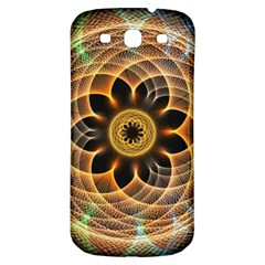 Mixed Chaos Flower Colorful Fractal Samsung Galaxy S3 S Iii Classic Hardshell Back Case