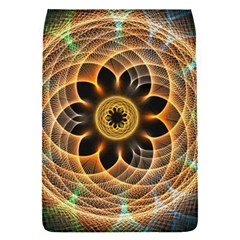 Mixed Chaos Flower Colorful Fractal Flap Covers (s)