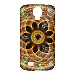 Mixed Chaos Flower Colorful Fractal Samsung Galaxy S4 Classic Hardshell Case (pc+silicone)