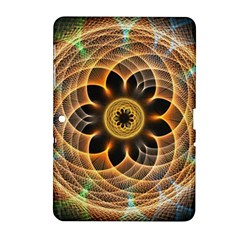 Mixed Chaos Flower Colorful Fractal Samsung Galaxy Tab 2 (10 1 ) P5100 Hardshell Case