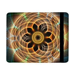 Mixed Chaos Flower Colorful Fractal Samsung Galaxy Tab Pro 8 4  Flip Case
