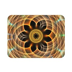 Mixed Chaos Flower Colorful Fractal Double Sided Flano Blanket (mini)