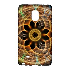 Mixed Chaos Flower Colorful Fractal Galaxy Note Edge