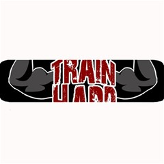 Train Hard Large Bar Mats