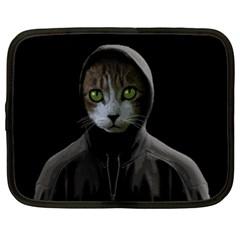 Gangsta Cat Netbook Case (xxl)