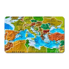 World Map Magnet (rectangular)