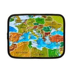 World Map Netbook Case (small)