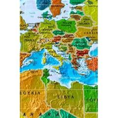 World Map 5 5  X 8 5  Notebooks