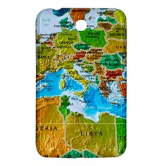 World Map Samsung Galaxy Tab 3 (7 ) P3200 Hardshell Case