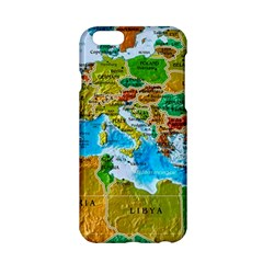 World Map Apple Iphone 6/6s Hardshell Case