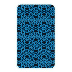 Triangle Knot Blue And Black Fabric Memory Card Reader
