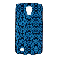 Triangle Knot Blue And Black Fabric Galaxy S4 Active