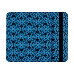 Triangle Knot Blue And Black Fabric Samsung Galaxy Tab Pro 8 4  Flip Case