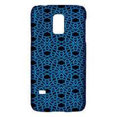 Triangle Knot Blue And Black Fabric Galaxy S5 Mini
