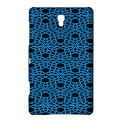 Triangle Knot Blue And Black Fabric Samsung Galaxy Tab S (8 4 ) Hardshell Case