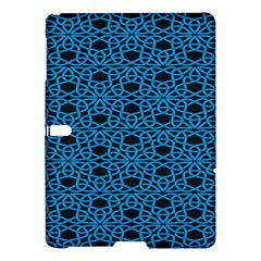 Triangle Knot Blue And Black Fabric Samsung Galaxy Tab S (10 5 ) Hardshell Case