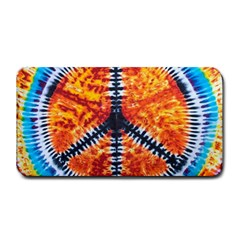 Tie Dye Peace Sign Medium Bar Mats