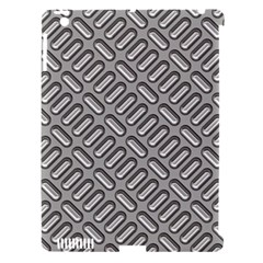 Grey Diamond Metal Texture Apple Ipad 3/4 Hardshell Case (compatible With Smart Cover)