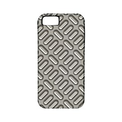 Grey Diamond Metal Texture Apple Iphone 5 Classic Hardshell Case (pc+silicone)