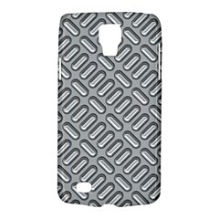 Grey Diamond Metal Texture Galaxy S4 Active