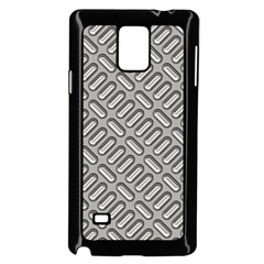 Grey Diamond Metal Texture Samsung Galaxy Note 4 Case (black)