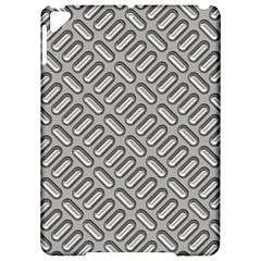 Grey Diamond Metal Texture Apple Ipad Pro 9 7   Hardshell Case