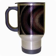 Spirit Of The Child Australian Aboriginal Art Travel Mug (silver Gray)